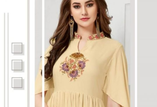 1b10c69658 VS FASHION NEYSA VOL 2 REYON EMBROIDERY ANARKALI KURTI WHOLESALE PRICE